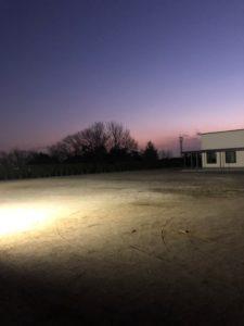 レッドスパロウズ夜間練習場候補地